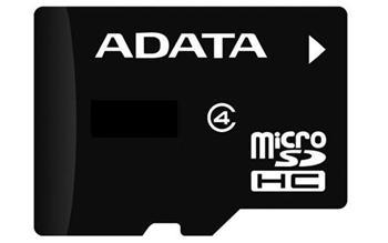 A-DATA microSDHC 4 GB karta class 4