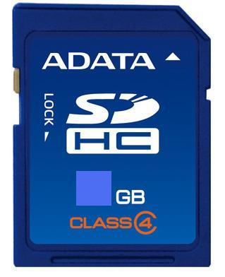 A-DATA SDHC 32 GB class 4 (ASDH32GCL4-R)