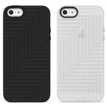 Belkin Duo Silikonové Pouzdra White a Black pro iPhone 5