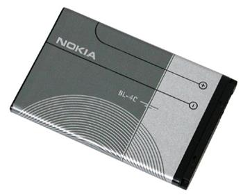 BL-4C Nokia baterie 860mAh Li-Ion (Bulk) original (1202,1203,1661,1662,2220s,2650,2652,2690,3500c,5100,6100...)