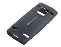 CC-1008 Nokia X2-00 Silikonové pouzdro Black (EU Blister)