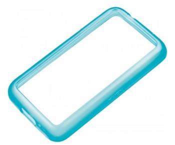 CC-1056 Nokia Lumia 620 Silikonové pouzdro Cyan (EU Blister)
