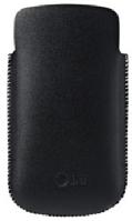 CCL-241 LG Original kožené pouzdro Čierne (EU Blister)