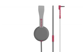 Coloud Stereo Headset Knock Blocks Grey/ Red