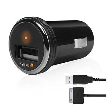 Cygnett micro USB AutoNabíječka pro iPhone 3G, 3GS, 4, 4S (Bulk)