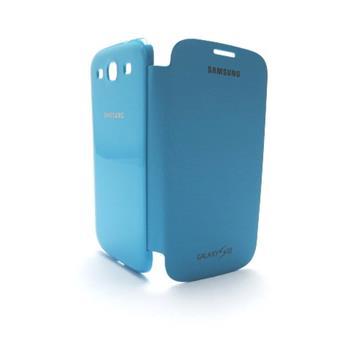 EFC-1G6FL Samsung Flip Pouzdro pro Galaxy S III (i9300/S3 i9301 Neo) Turquise (EU Blister)