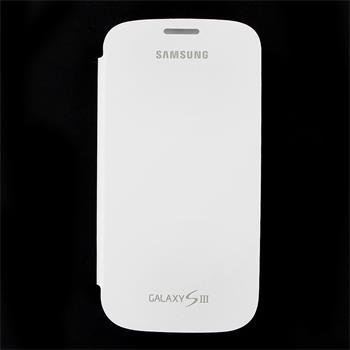 EFC-1G6FWE Samsung Flip Pouzdro pro Galaxy S III (i9300) Merble White (EU Blister)