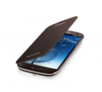 EFC-1J9FA Samsung Flip Pouzdro pro Note 2 (N7100) Brown