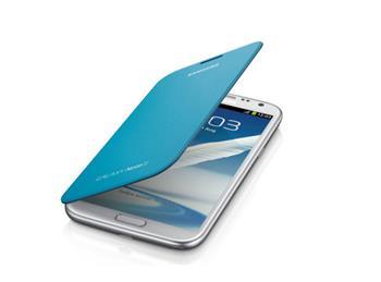 EFC-1J9FBE Samsung Flip Pouzdro pro Note 2 (N7100) Modré