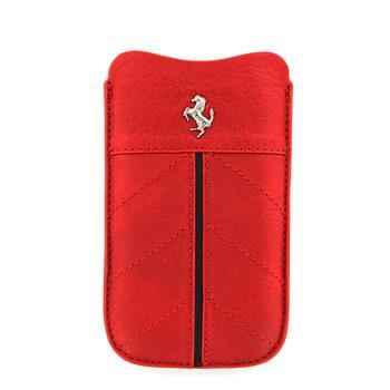 FECFSLMR Ferrari California Kožené Pouzdro Red vel. M