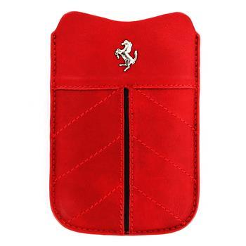 FECFSLSR Ferrari California Kožené Pouzdro Red vel. S