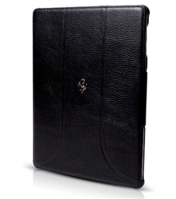 FEFFFCNPBL Ferrari Kožené Folio Pouzdro Black pro the New iPad