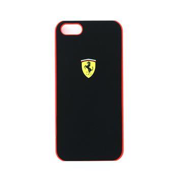 FESCHCP5BL Ferrari Zadní Kryt Black Scuderia pro iPhone 5, 5S