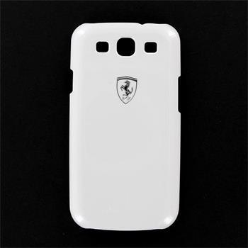 FESIHCS3WH Ferrari Zadní Kryt Metallic White Scuderia pro Samsung i9300
