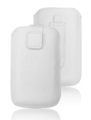 ForCell Deko Pouzdro Biele pro iPhone 4/4S, Samsung S5830i, S6310