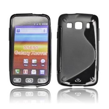 ForCell Zadní Kryt Lux S Black pro Samsung S5690