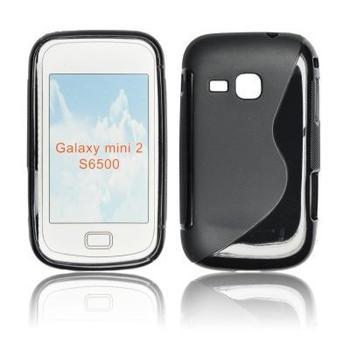 ForCell Zadní Kryt Lux S Black pro Samsung S6500