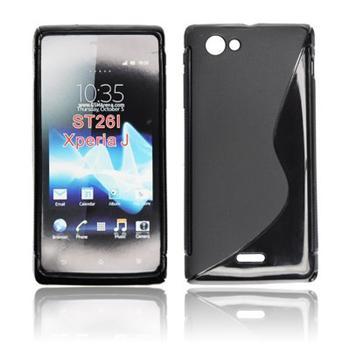 ForCell Zadní Kryt Lux S Black pro Sony ST23i