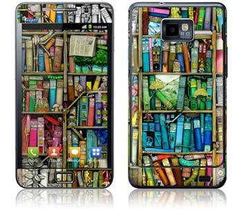 GelaSkins Bookshelf Samsung Galaxy SII i9100