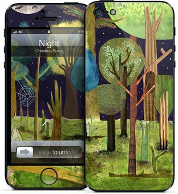 GelaSkins Night iPhone 5/5S/SE