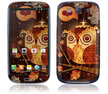 GelaSkins The Enamored Owl Samsung Galaxy SIII i9300