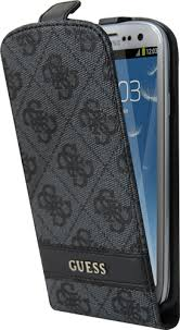 Guess flipové púzdro GUFLS34GG pre Samsung Galaxy S3, šedá