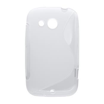 Gumené puzdro HTC Desire C biele