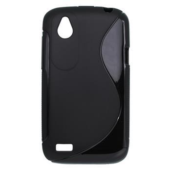 Gumené puzdro HTC Desire V / Desire X čierne