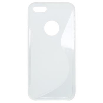 Gumené puzdro iPhone 5/5S/SE biele