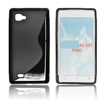 Gumené puzdro LG P880 4XHD čierne