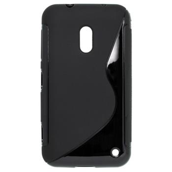 Gumené puzdro Nokia Lumia 620 čierne