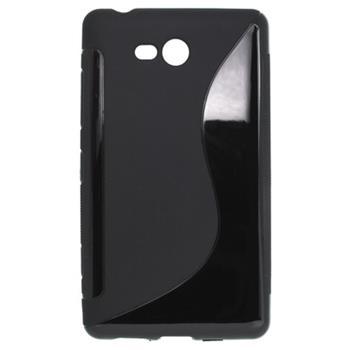 Gumené puzdro Nokia Lumia 820 čierne