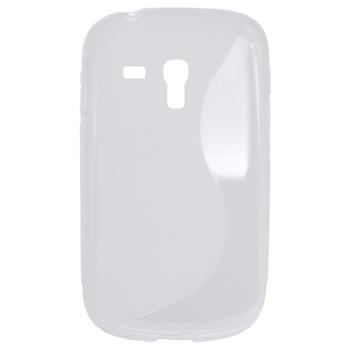 Gumené puzdro Samsung Galaxy S3 Mini i8190/i8195/i8200VE biele