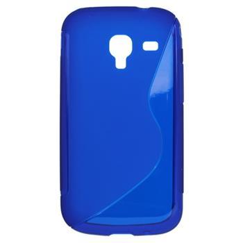 Gumené puzdro Samsung i8160 Galaxy Ace II i8160 modré
