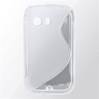 Gumené puzdro Samsung S5360 transparentné