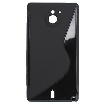 Gumené puzdro Sony Xperia Sola MT27i čierne