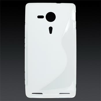 Gumené puzdro Sony Xperia SP C5303 biela