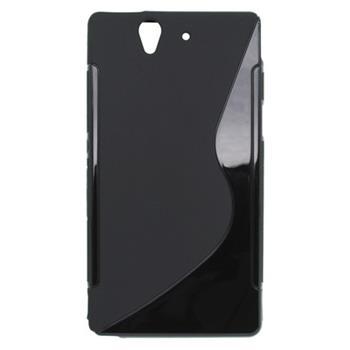 Gumené puzdro Sony Xperia Z C6603 Čierne