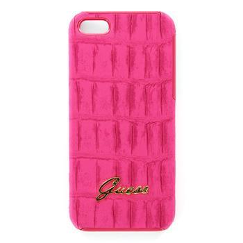 GUP5CMPI Guess Matte Pink Zadní Kryt pro iPhone 5/5S/SE