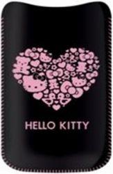HKBBPUP5B Hello Kitty Pastel2 Universal Pouzdro Čierne (EU Blister)