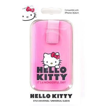 HKPOPUP4P Hello Kitty Pull-Up Pastel4 Universal Pouzdro Pink (EU Blister)