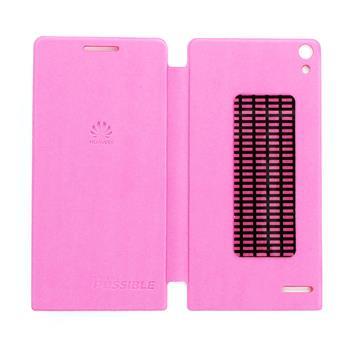 Huawei Original Folio Pouzdro Pink pro Ascend P6 (EU Blister)