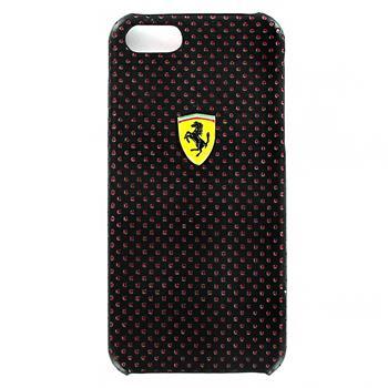 iPhone 5, 5S, SE FECHFPHCP5 Ferrari Kožený Zadní Kryt New Challenge