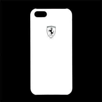 iPhone 5/5S/SE FESIHCP5WH Ferrari Zadní Kryt Metallic White Scuderia