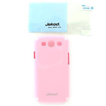 JEKOD Shiny Pouzdro Pink pro Samsung Galaxy S3 (i9300/S3 i9301 Neo)