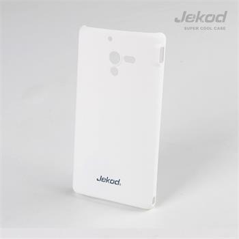 JEKOD Super Cool Pouzdro Biele pro Sony Xperia ZL
