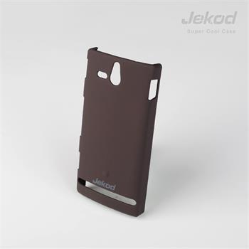 JEKOD Super Cool pouzdro Brown pro Sony Xperia V LT25i