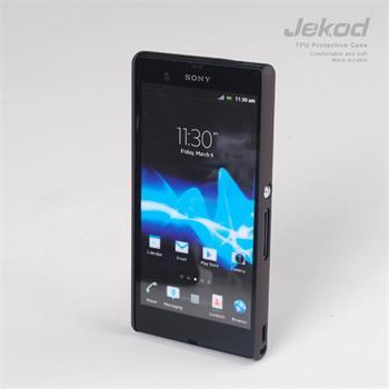 JEKOD Super Cool pouzdro Brown pro Sony Xperia Z L36i