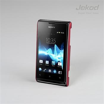 JEKOD Super Cool pouzdro Red pro Sony Xperia E