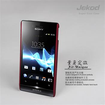 JEKOD Super Cool pouzdro Red pro Sony Xperia Miro ST23i